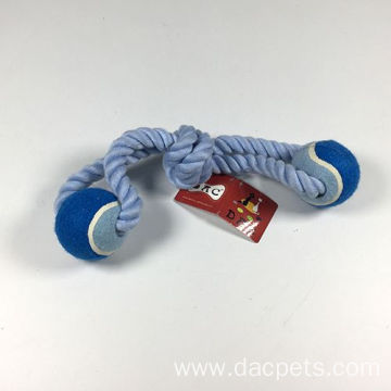Dog Rope Toys with Tennis Ball
