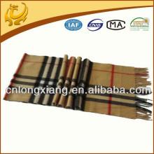 Wholesale 2015 Fashionable Wool Plaid Scarf
