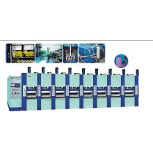 Machine de moulage de mousse EVA secondaire avec approbation de la CE