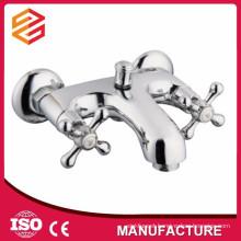 sanitary ware dual handle freestanding bathtub faucet shower and bathtub mixer