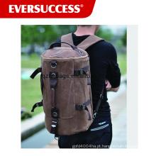 Canvas back pack duffel mochila mochila mochila ao ar livre mochila grande saco de acampamento back pack duffel