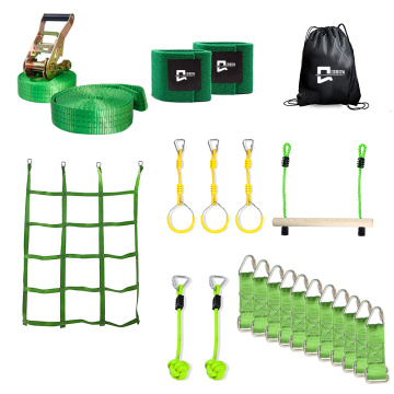 EASTOMMY Ninja Warrior Hindernisparcours-Kit für Kinder