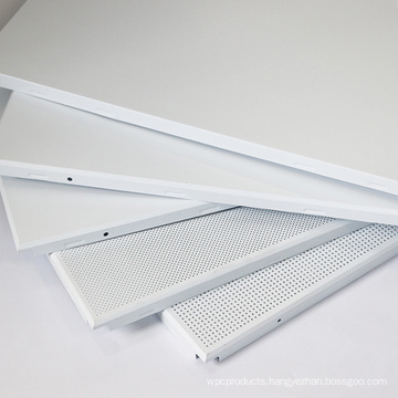 Aluminum Alloy soundproof fireproof house ceiling board materials