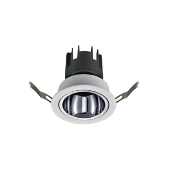 Charcoal Grey Modern 12W LED Downlight