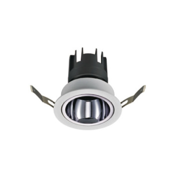 Downlight LED moderno gris carbón de 12 vatios