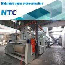 Dekorative Kraftpapier Verarbeitungsmaschine / Papier Imprägnierung Linie