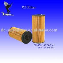 Elemento filtrante de óleo lubrificante 6021800009 para Mercedes-Benz