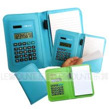 Bloc-notes avec calculatrice et ballpen (LC805C)