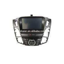 8''car dvd player, fabrik direkt! Quad core, GPS, DVD, radio, bluetooth wifi, wsc, ipod für 2012 fokus