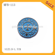 MFB113 Hot sale baby clothing remove metal strong spring snap buttons for jeans