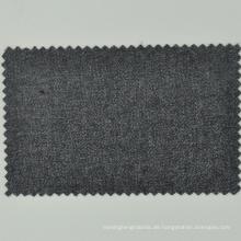 Italienisch Loro Cadini Wolle Frauen Anzug Stoff Mitte grau Semi-Kammgarn für Mantel