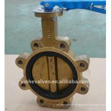 bronze butterfly valve