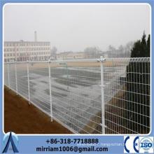 2015 Anping Baochuan company ornamental double loop wire mesh fence