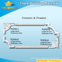 Hardened Polyurethane Plastic 3D Ceiling Moulding with reasonable price