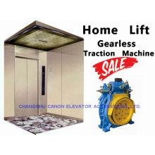 Máquina de tração Gearless de elevador síncrono ímã permanente