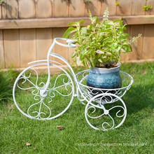 Hot Sale Metal Art Bicycle Flower Pot Holder