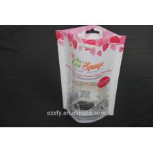 Laminados ecológicos amigables plástico stand-up bolsas / bolsas