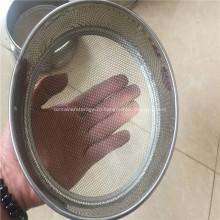 Стандартные лабораторные испытания нержавеющей стали / садовое сито
