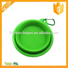 Factory Price Multi-function Silicone Pop-up and Folding Travel Bowl