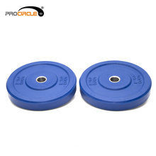Procircle Bumper Chequered Body Building Plates Weight