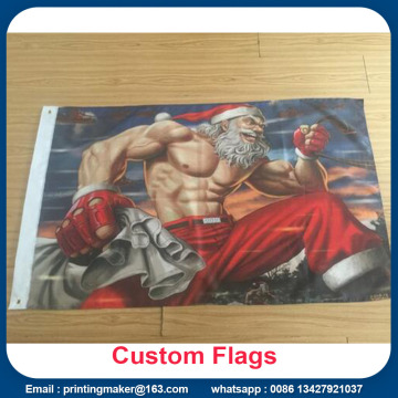 Custom 100% Polyester Fabric Color Advertising Advertising Flaggor