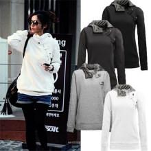 Wholesale Plus Size Frauen Günstige Sport Anzug Pullover Hoodie (50172)