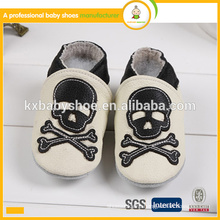 2015 best sale soft sole real leather cowhide baby casual shoes