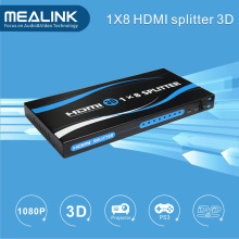 1X8 HDMI V1.3 Splitter Support 3D, 1080P