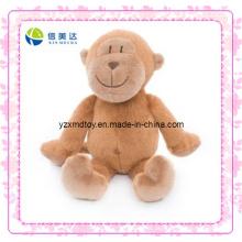 Engraçado marrom pelúcia brinquedo macaco (xdt-0191)