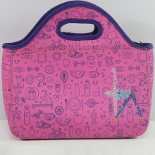 Online hot neoprene school lunch cooler bags
