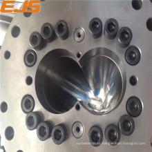 Barril de tornillo de alta calidad para el tacho de extrusora bimetálica de máquina de extrusión de PVC