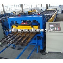 Used Steel roofing Tile Roll Forming Machine/Galvalume Roof Sheet Roll Forming Machine25-183-1100B