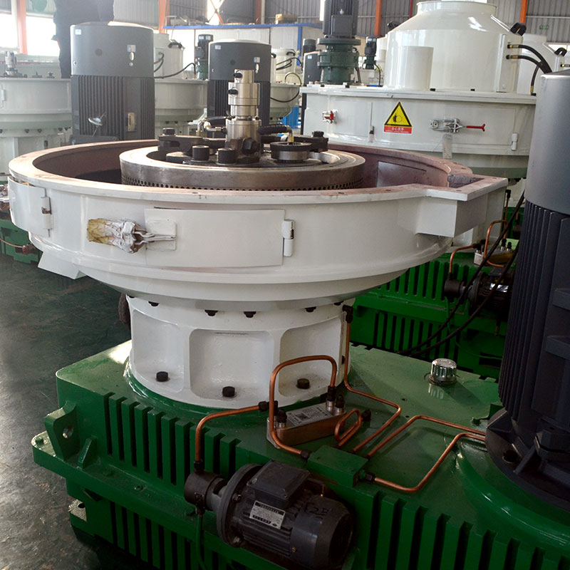 Vertical Ring Die Pellet Machine