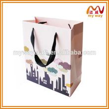 Chine fournisseur sac à provisions sur mesure en papier, sac en papier, sac en papier kraft