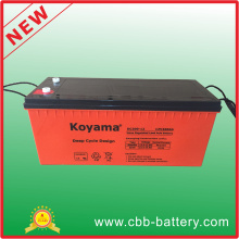 AGM Inverter Lead crystal Battery Safety 12V 200ah Battery Deep Cycle Battery