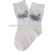 Calcetines antideslizantes lindos de punto
