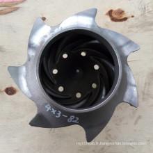 Rouleau de cire perdue / moulage de précision Roulette de pompe chimique Durco ANSI