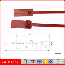 Jc-PS110 Factory Wholesale Plastic Security Seal for Tote Bin