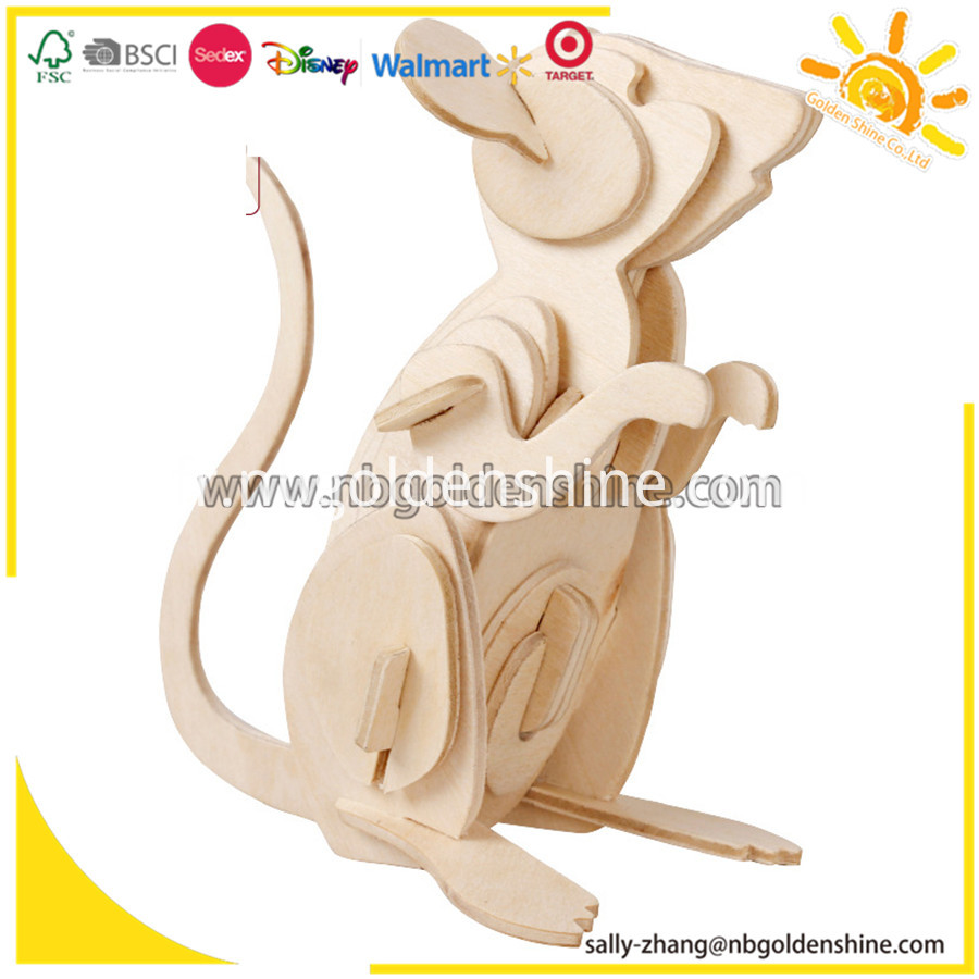 3d Wooden Jigsaw Puzzle