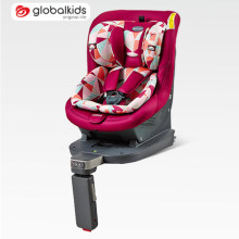 Baby car seats with orange pink covers