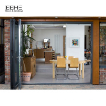 Soundproof Aluminum Bifold Sliding Stained Glass Doors Prices Philippines