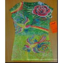 papel de impresión de la transferencia de calor de la camiseta oscura del algodón de la sublimación