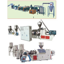 PVC-Holz-Kunststoff-Verbund Granulationsmaschine