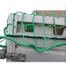 Polypropylene Knotless Green Trailer Nets in High Breaking Strength