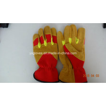 Labor Glove-Working Gloves-Working Leather Glove-Safety Glove-Cow Leather Glove