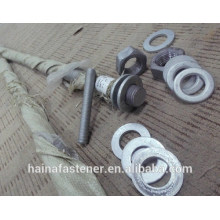 Factory price zinc plated ASTM A193 B7 thread Bolt M42