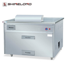 Energy Efficient Stainless Steel Commercial Electric Teppanyaki Table For Barbecue