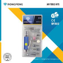 Kits d'outils pneumatiques Rongpeng RP7812 11PCS
