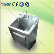 Mobilier d'hôpital d'évier à frire en acier inoxydable (THR-SS011)