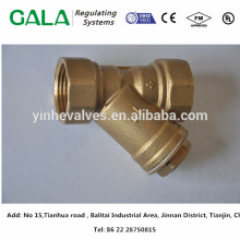 China 10 years high precision top supplier Y type strainer body with flange ends for water